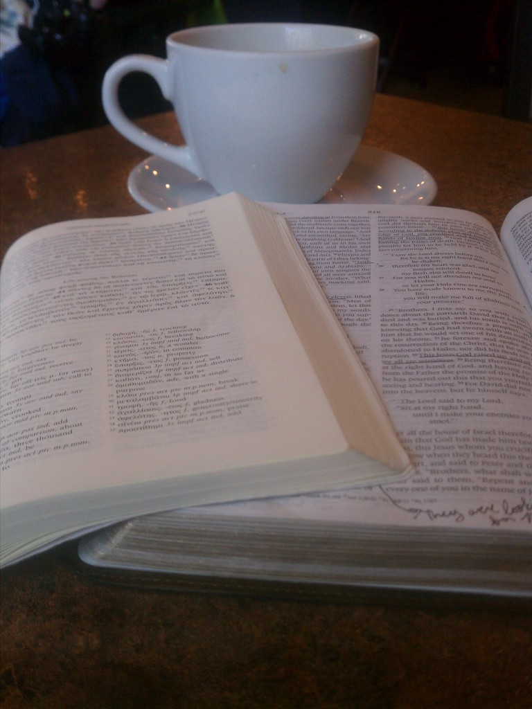 ypsilanti-scripture and coffee