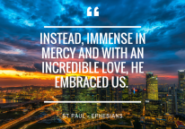 Embraced…